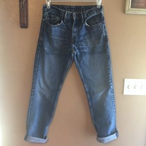 Vintage Levi's distressed 511 blue jeans w31 L32